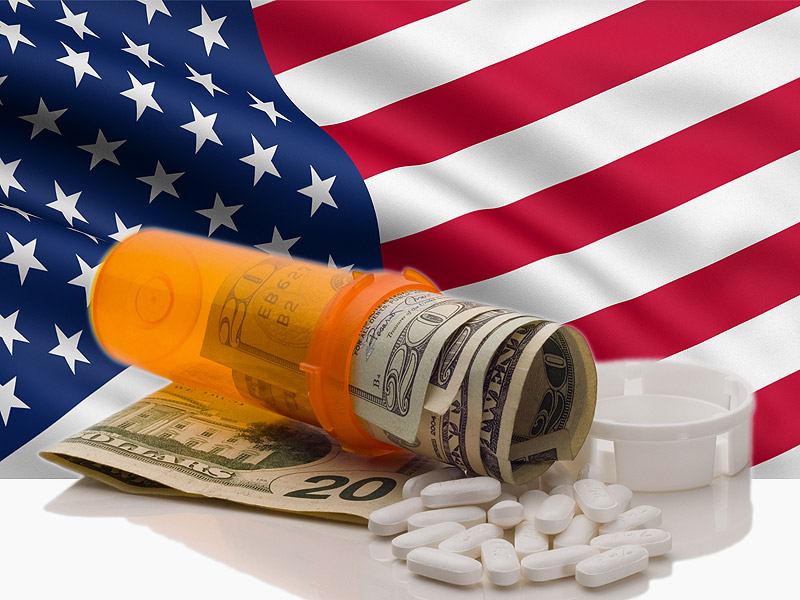 Image result for images of high price medication in the United States""
