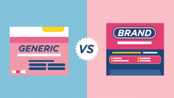The distinction between Brand-Name drugs v/s Generic drugs