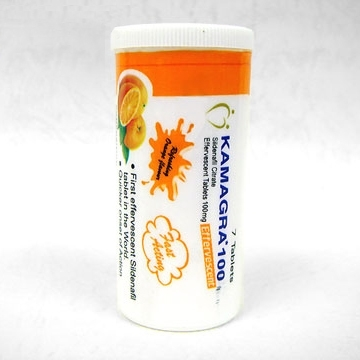 Viagra (Kamagra) Effervescent  Tablets100mg (Generic Equivalent)