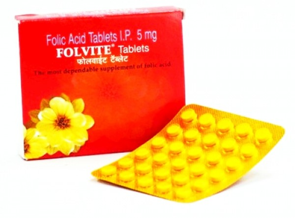 Folic Acid 5mg Tablet