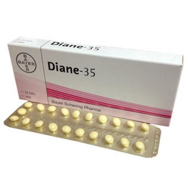 Cyproterone 2mg + Ethinyl Estradiol 0.035mg Tablet