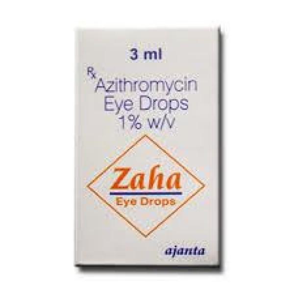 Azasite 1 Percent Eye Drop 3 ml ( Generic Equivalent )
