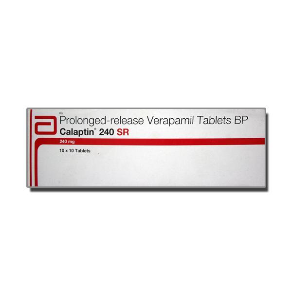 Calan SR 240 mg Tablet ( Generic Equivalent )