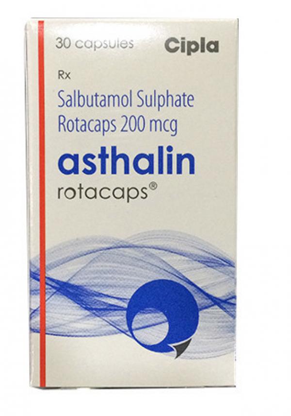Albuterol 200 mcg Rotacaps with Rotahaler (Generic Equivalent)