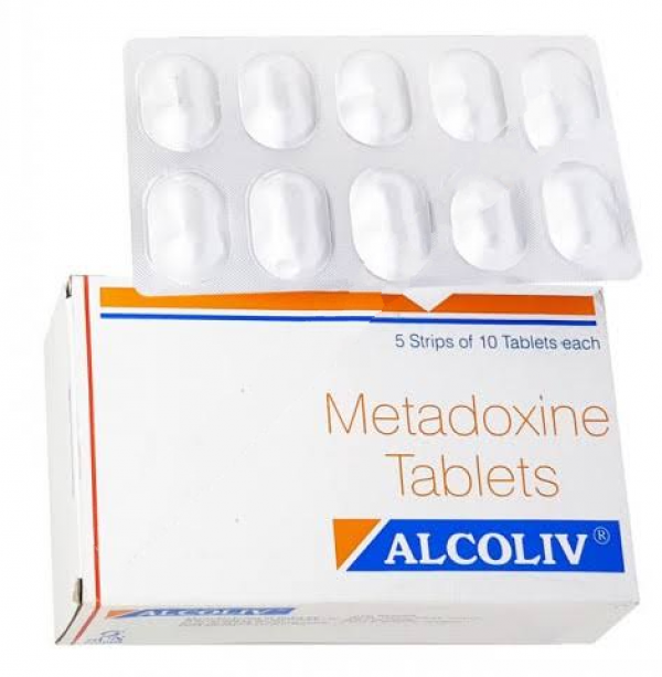 Metadoxine 500 mg Tablet (Generic Equivalent)
