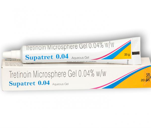 Retin A Micro .04 % Gel 20 gm (Generic equivalent)