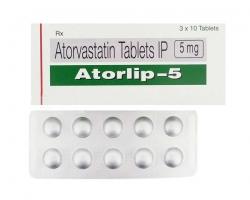 Atorlip 5mg Tablets