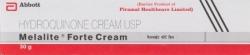 Box of generic hydroquinone 4% Cream