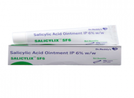 A tube and a box of generic Salicylic Acid 6 % Ointment