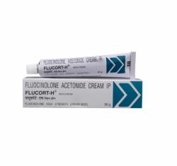 Box and tube of generic Fluocinolone acetonide (0.1% ) Cream