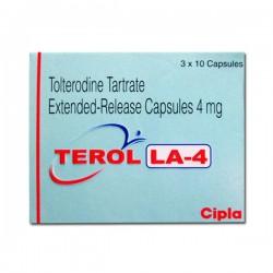 Detrol LA 4mg Capsules ( Generic Equivalent )