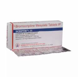 Parlodel  1.25 mg Tablet ( Generic Equivalent )