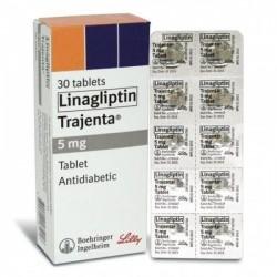 Tradjenta 5mg Tablet ( International brand version )