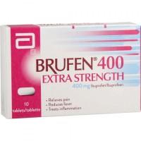 Box of generic Ibuprofen (400mg) Tablet