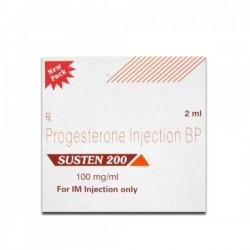 Box of generic Progesterone 200 mg / ml Injection
