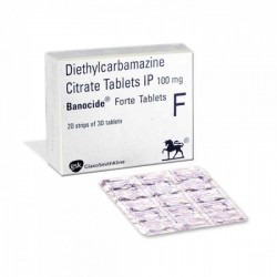 Diethylcarbamazine 100 mg Tablet (Generic Equivalent)
