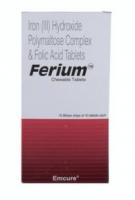 Elemental Iron 100 mg and Folic Acid 350 mcg Chewable Tablet (Generic Equivalent)