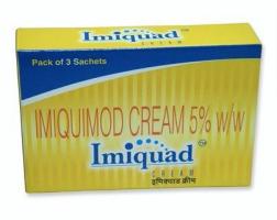 Aldara 5 % Cream (0.25 gm in 1 sachet) (Generic Equivalent)