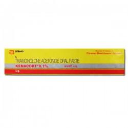 Triamcinolone Acetonide 0.1 % Paste 5gm (Generic Equivalent)