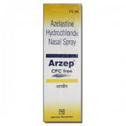 A box of Azelastine 0.1% Nasal Spray