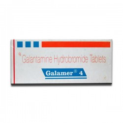 A box of generic Galantamine 4mg Tablet