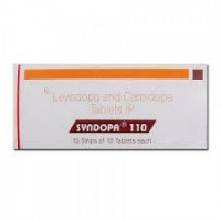 Box of generic Levodopa (100mg) and Carbidopa (10mg) Tablet