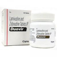 Combivir 150 mg /  300 mg Tablet (Generic Equivalent)