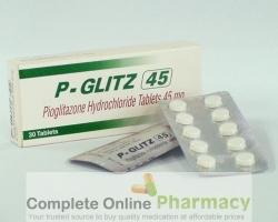 Pioglitazone Hydrochloride 45mg Tablets