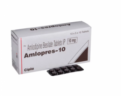 Norvasc 10mg Tablets (Generic Equivalent)