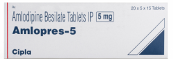 Norvasc 5mg Tablets (Generic Equivalent)