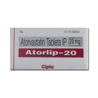 Atorlip 20mg Tablets