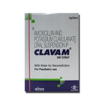 Clavam Dry Syrup 30 ml ( Generic Version )