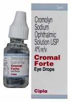Crolom 4 Percent Ophthalmic Solution 5ml (Generic Equivalent)