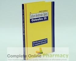 box of generic Alendronate Sodium 35mg tablet