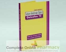 box of generic Alendronate Sodium 70mg tablet