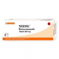 A box of generic Nizol 200 mg Tablet