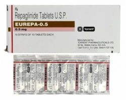 Prandin 0.5 mg Tablets (Generic Equivalent)