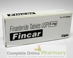 A box generic Finasteride 5mg tablets