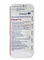 A box of generic Rosuvastatin Calcium 40mg tablets