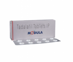 Image of Module tadalafil 5mg tablet and blister strips