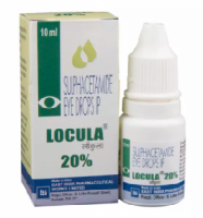 A box and a bottle of Sulfacetamide 20 %  Eye Drop of 10ml