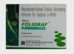 Follistim AQ 75 IU Injection (Generic Equivalent)