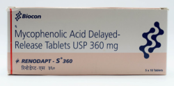 CellCept 360 mg Tablet (Generic Equivalent)