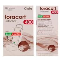 Box and bottle of generic budesonide 200mcg, formoterol fumarate 6mcg inhaler