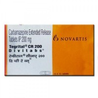 A box of generic carbamazepine 200mg tablets