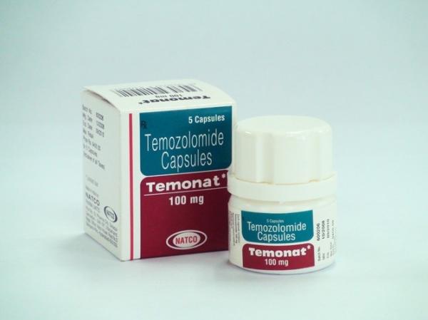 Temozolomide 100mg Capsules