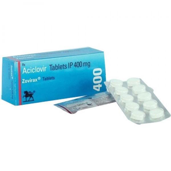 Zovirax 400mg tablets ( Brand Version)