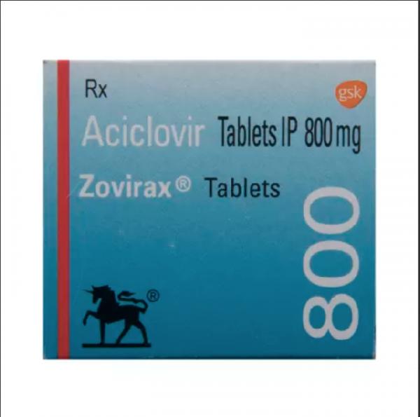 Zovirax 800mg tablets ( Brand Version)